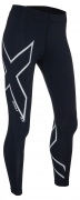 2XU Heat Compression Long Tight Damen Schwarz/Silber