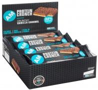 AMSPORT Protein Crunch Bar 32% Karton 12 Riegel 50g