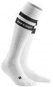 CEP Run 80´s Compression Socks Herren Weiss/Schwarz