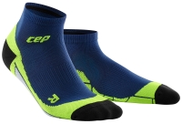 CEP Running Low Cut Socks Herren Deep Ocean/Grün