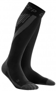 CEP Nighttech Run Compression Socks Herren Schwarz/Schwarz