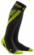 CEP Nighttech Run Compression Socks Herren Schwarz/Grün