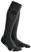 CEP Outdoor Merino Compression Socks Herren Grau/Schwarz