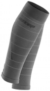 CEP Reflective Compression Calf Sleeves Herren Grau
