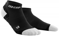 CEP Run Ultralight Low Cut Socks Herren Schwarz/Grau