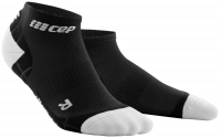 CEP Run Ultralight Pro Low Cut Socks Herren Schwarz/Grau