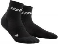 CEP Compression Ultralight Short Socks Damen Schwarz/Grau