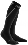 CEP Winter Run Compression Socks Herren Grau/Schwarz