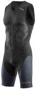 Skins DNAmic Triathlon Compression Skinsuit Front Zip Herren Schwarz/Carbon