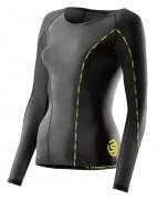 Skins DNAmic Compression Long Sleeve Top Damen Black