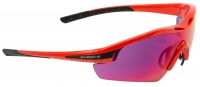 Swiss Eye Model Novena - Warm Red Shiny / Black