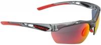Swiss Eye Model Nucleo - Crystal Grey Matt / Red