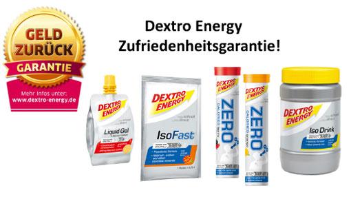 dextro energy zufriedenheitsgarantie