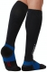 2XU Compression Elite Lite X-Lock Socks Herren Schwarz