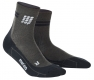 CEP Run Merino Compression Short Socks Herren Anthracite/Schwarz + BANDANA GRATIS