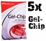 Ultra Sports Gel Chip - 5 Packungen 60g Vorratspaket