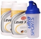 Ultra Sports Level X im Doppelpack 2x500g + Mix-Shaker